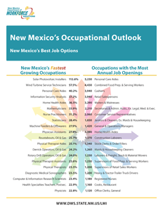 NM Occupational Outlook